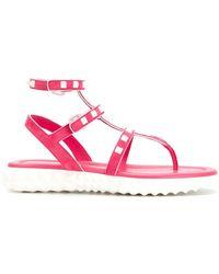 Valentino - Garavani Free Rockstud Sandals - Lyst