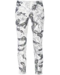 Faith Connexion - Glitter Detail Skinny Jeans - Lyst
