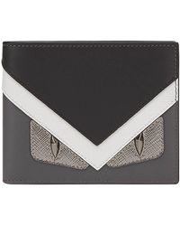 Fendi - Bag Bugs-appliqué Wallet - Lyst