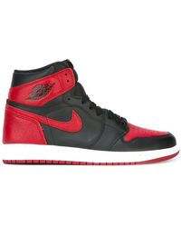quality design 3aaa3 b6240 Nike - Air Jordan 1 Retro High Og Banned Trainers - Lyst