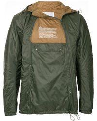 Kolor - Zipped Contrast Jacket - Lyst