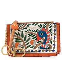 Tory Burch - Toucan Zipped Small Pouch - Lyst
