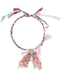 DANNIJO - Daphne Plaited Necklace - Lyst