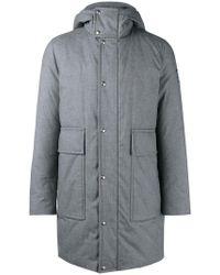 Moncler - Padded Hooded Coat - Lyst