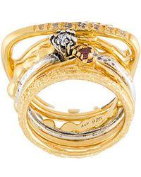 Iosselliani - 'silver Heritage' Ring Set - Lyst