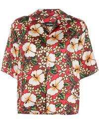 DSquared² - Hawaiian Floral-print Shirt - Lyst