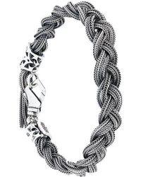 Emanuele Bicocchi | Braided Bracelet | Lyst