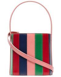 STAUD - Multicoloured Bisset Leather Bucket Bag - Lyst