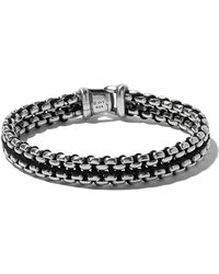 David Yurman - 'Box Chain' Armband aus Sterlingsilber - Lyst