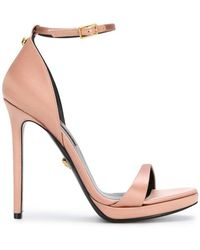 Versace - Open-toe Pumps - Lyst