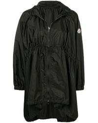 Moncler - Oversized Hooded Coat - Lyst