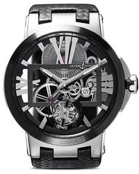 Ulysse Nardin - Reloj Executive Skeleton Tourbillon 45mm - Lyst