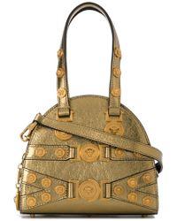 23a035e1a9 Versace - Studded Medusa Shoulder Bag - Lyst