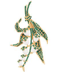 Oscar de la Renta - Lily Of The Valley Brooch - Lyst