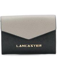 Lancaster - Logo Plaque Wallet - Lyst