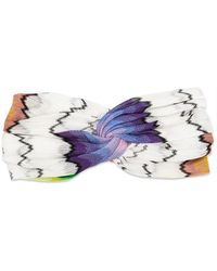 Missoni - Twisted Knit Head Band - Lyst