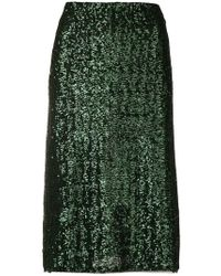 Gianluca Capannolo - Sequin Embroidered Skirt - Lyst