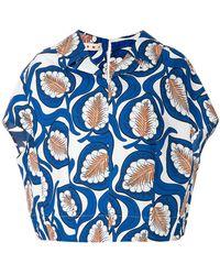 Marni - Leaf Print Shirt - Lyst