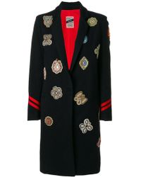 History Repeats - Embellished Patch Coat - Lyst