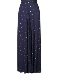 Morgan Lane - Star Embroidered Elisa Trousers - Lyst