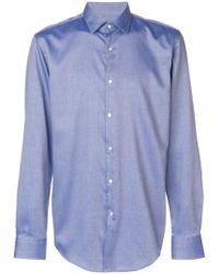 BOSS - Classic Plain Shirt - Lyst