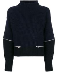 Dondup - Zipped Detail Jumper - Lyst