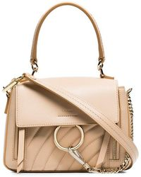 Chloé - Pink Faye Day Mini Quilted Leather Shoulder Bag - Lyst