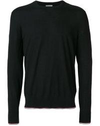 Moncler - Logo Long-sleeve Sweater - Lyst