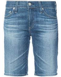 AG Jeans - Knee-length Shorts - Lyst