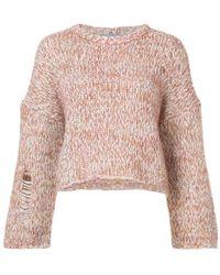Raquel Allegra - Chunky Knit Sweater - Lyst
