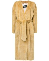 Numerootto - Maxi Coat - Lyst