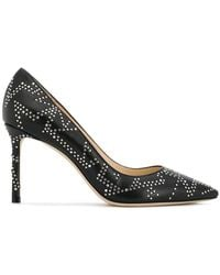 Jimmy Choo - Romy 85 Leather Court Shoes - Lyst