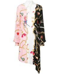 Vivetta - Asymmetric Pussy Bow Dress - Lyst