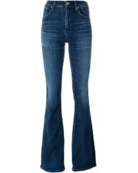 Citizens of Humanity - 'fleetwood High Rise' Flared Jeans - Lyst