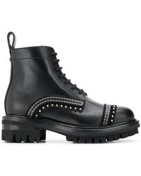 DSquared² - Studded Ankle Boots - Lyst