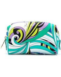 Emilio Pucci - Printed Make-up Bag - Lyst