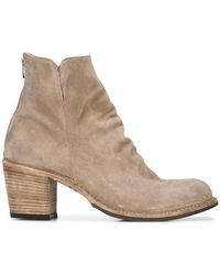 Officine Creative - Block Heel Ankle Boots - Lyst