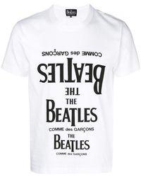 Comme des Garçons - The Beatles T-shirt - Lyst