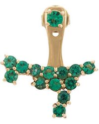 Anita Ko - Emerald Cluster Ear Jacket - Lyst