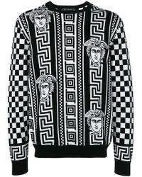 Versace - Sweatshirt mit Print - Lyst