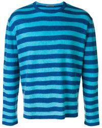Ermanno Scervino - Striped Style Sweater - Lyst