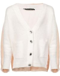 Y. Project - Bicolour Cardigan - Lyst