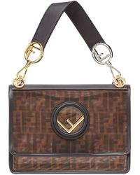 Fendi - Kan I F Shoulder Bag - Lyst