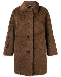 Aspesi - Oversized Coat - Lyst