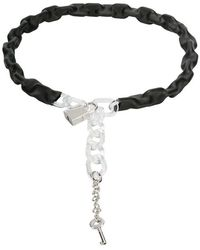 MM6 by Maison Martin Margiela - Wrapped Chain Belt - Lyst
