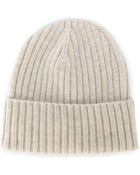 Dell'Oglio - Ribbed-knit Cashmere Hat - Lyst