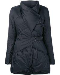 Emporio Armani - Asymmetric Puffer Jacket - Lyst