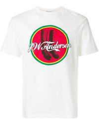 J.W. Anderson | Jwa Cola Boots T-shirt | Lyst