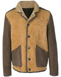 YMC - Two-tone Button Jacket - Lyst