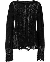 Faith Connexion - Distressed Effect Sweater - Lyst